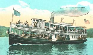 Adirondack lake history